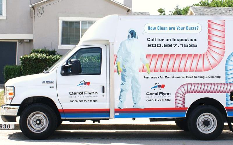 carol flynn service truck