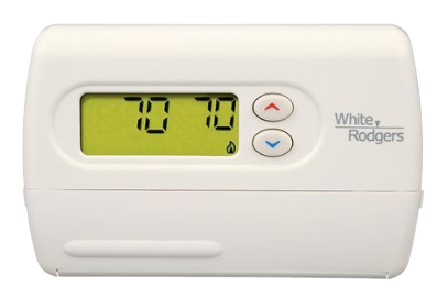 white rodgers single heatsingle cool 5 1 1 programmable thermostat