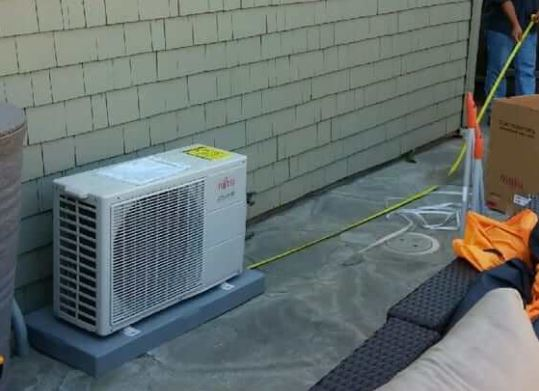 air conditioning installation in Menlo Park, CA